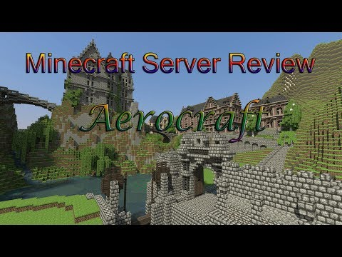 Aerocraft Server Review 1.7.4 / Factions, Pvp, Skyblock, and Creative