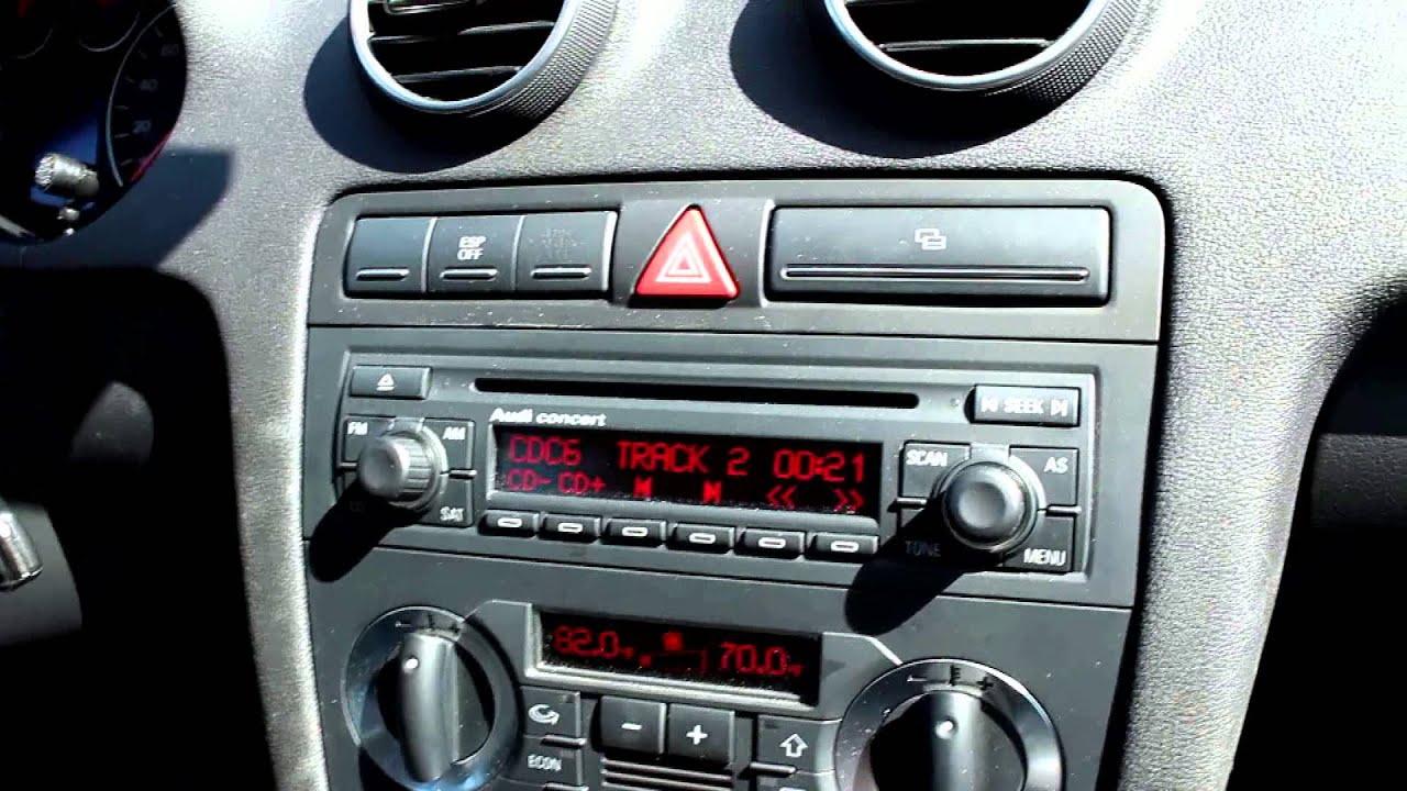 2007 2008 2006 2005 2004 Audi A3 Demo Grom Usb Bluetooth