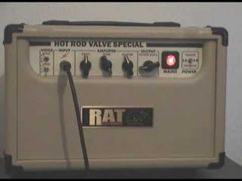 Hot Rod GA5 (EVJ)  Valve amp & Celestion G12 Vintage Cab