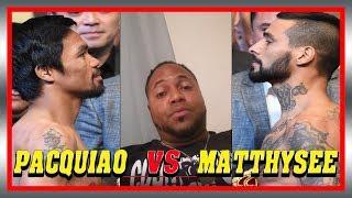 PACQUIAO vs MATTHYSEE POST FIGHT RECAP