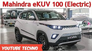 Mahindra e-KUV100 Electric Compact SUV - Details and Features || eKUV100 launch date