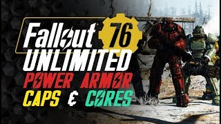Unlimited Fusion Cores Caps and Power Armor Farm/Guide - Fallout 76