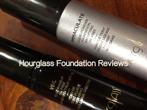 REVIEW: HOURGLASS IMMACULATE VS VEIL Fluid Foundation