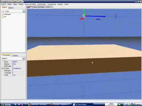 3d game builder - tutorial 1