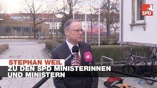 Statement Stephan Weil zu den SPD Minsiterinnnen und Ministern