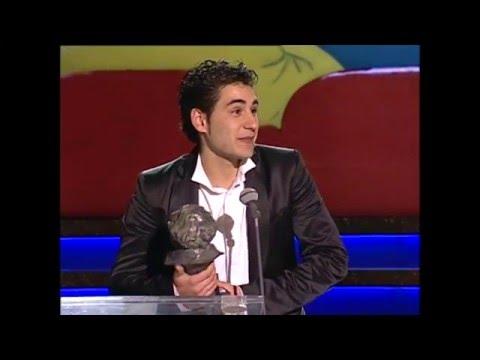 Jesús Carroza gana el Goya a Mejor Actor Revelación en 2006