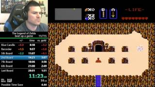 (27:57) The Legend of Zelda any% speedrun (world record)