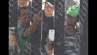 THE MIGRANTS IN THE CARAVAN HAVE NEW SMART PHONES BUT THE MEDIA SAYS THEY ARE POOR AND STARVING