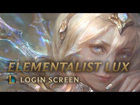 Elementalist Lux | Login Screen - League of Legends