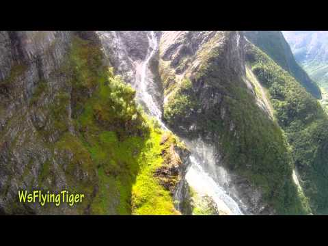Hugging the Mountain - Wingsuit proximity flying by Tiger Odd-Martin