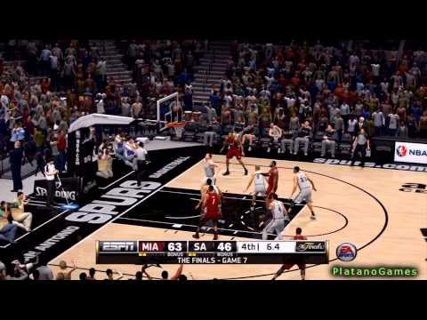 NBA Finals 2014 - Miami Heat vs San Antonio Spurs - 4th Qrt - Game 2 - Live 14 - HD