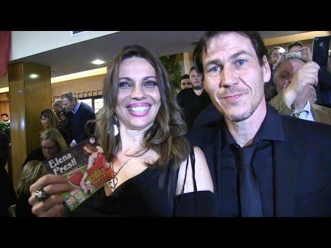 Rudy Garcia con Elena Presti festa della Roma calcio 31 marzo 2015
