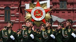Russian National Anthem - Victory Day Parade on Moscow