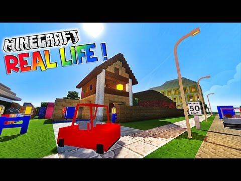 """Présentation du modpack """"REAL LIFE""""! - Des voitures dans minecraft ! [1.7.10]"""