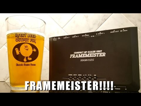 Classic Game Room - FRAMEMEISTER review!!