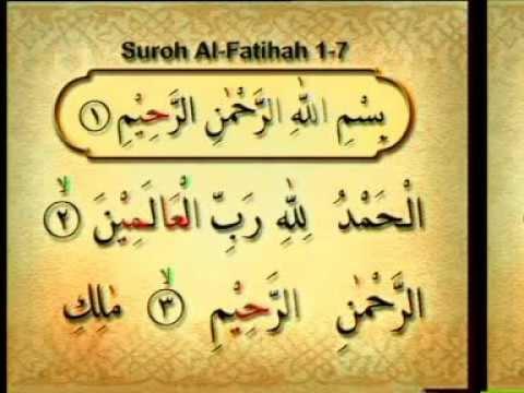 (Bag. 18/21) - Belajar Membaca Al Quran Metoda An-Nuur - Surat Al Fatihah