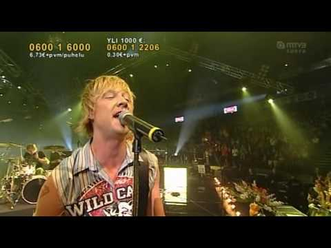 Sunrise Avenue - Fairytale Gone Bad (live  Elämä Lapselle) video