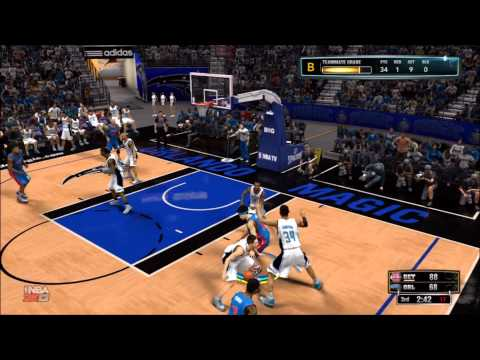 INSIDE MAN: NBA 2K13: Detroit Pistons vs. Orlando Magic - Shao Khan Mathlete: My Player