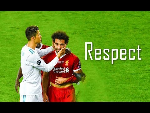 Mohamed Salah and Cristiano Ronaldo Respect & Beautiful Moments ● New