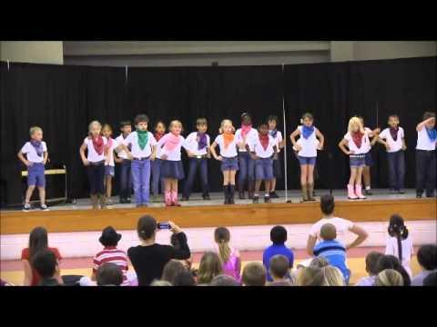 Salisbury Academy Talent Show 2014 1st Grade Class