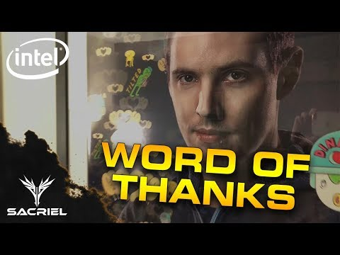 WORD OF THANKS (and giveaway announcement!) #sponsored by Intel
