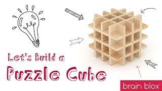 Wooden Building Blocks Build Ideas - Puzzle Cube