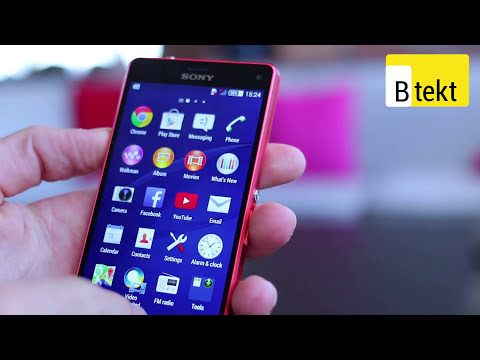 Sony Xperia Z3 Compact hands on - IFA 2014