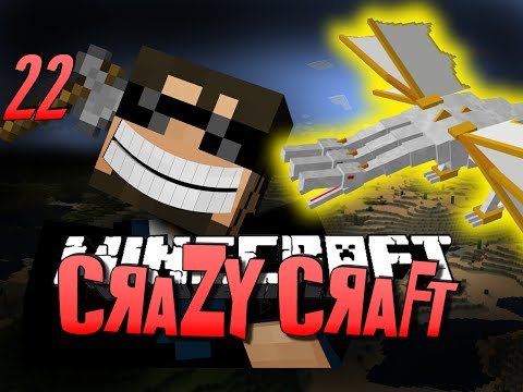Minecraft CRAZY CRAFT 22 - THE KING BATTLE (Minecraft Mod Survival)