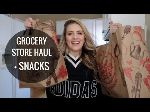 Healthy Grocery Store Haul and Snacks | Taste Test