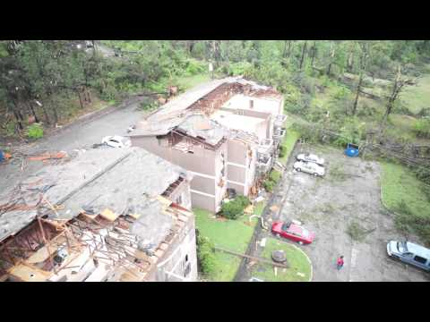 Tornado Damage - Bessemer, AL - Drone Aerial Footage 4/28/14 - Free To Use