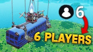 6 PLAYER GAME..CRAZY BUG..!! | Fortnite Funny and Best Moments Ep.17