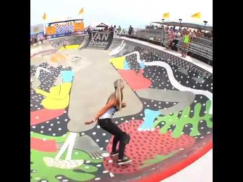 Congrats to @lizziearmanto going pro! 🎥: @epiclytrife | Shralpin Skateboarding
