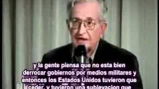 Noam Chomsky pronostica Intervención Militar EstadoUnidense en LatinoAmerica