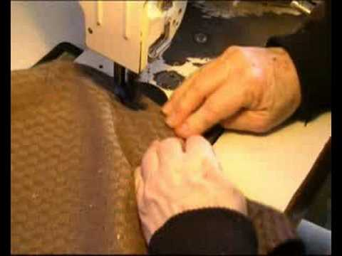 How to make arm covers for a chair