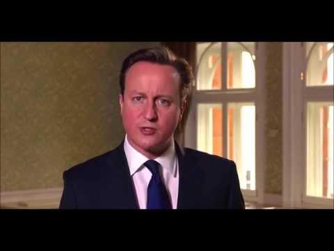 David Cameron felicita la Pascua Cristiana a los británicos.