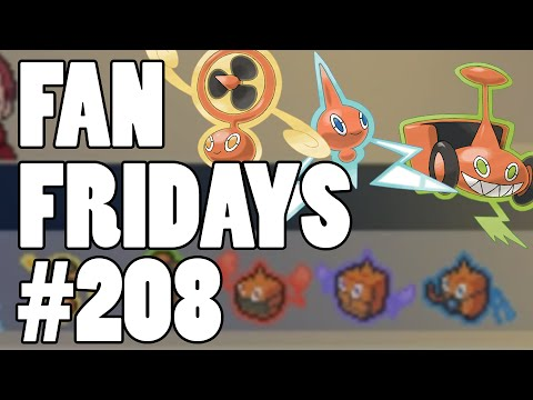 Pokemon Omega Ruby & Alpha Sapphire Wi-Fi Review! Fan Fridays #208 Nick - Mono Rotom?