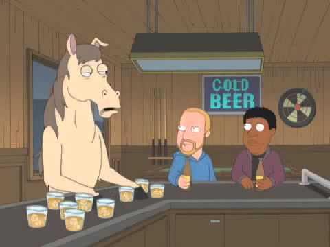 Stubborn mule family guy