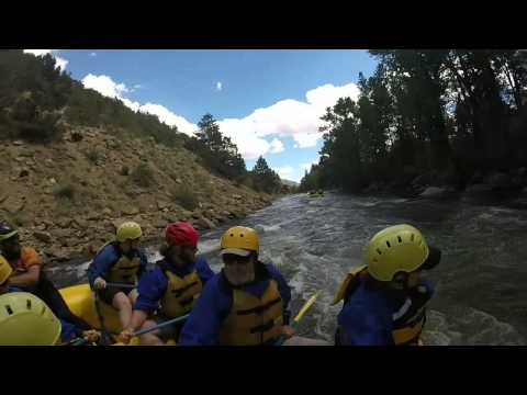 Colorado rafting the numbers 3