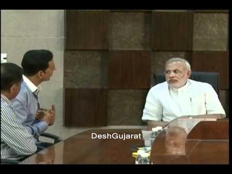 Akshay Kumar visits Narendra Modi