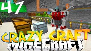 "Minecraft CRAZY CRAFT 3.0 #47 ""AWESOME TRANSFORMER STANDS!"" (Crazy Craft SMP)"