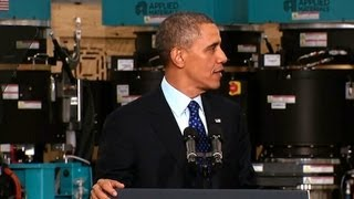 President Obama Speaks on Innovation and Manufacturing 5/10/13