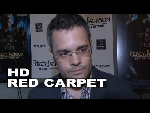 Percy Jackson: Sea Of Monsters: Thor Freudenthal (Director) Hamptons Premiere Interview