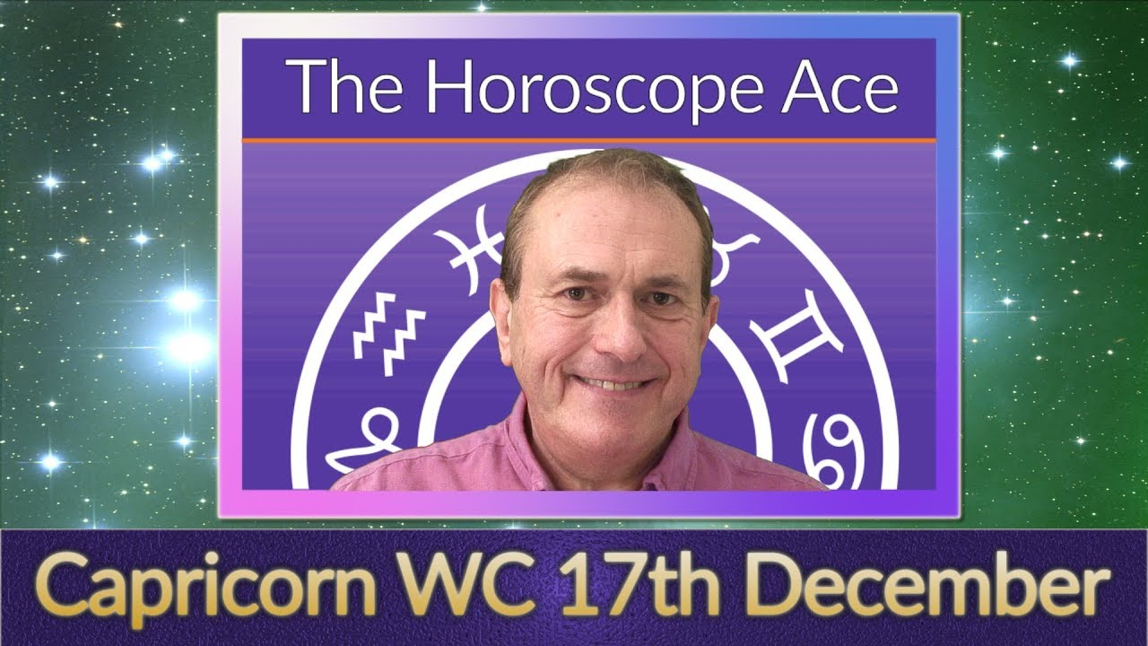 Weekly Horoscope from 17th December - 24th December