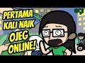 Pertama Kali Naik Ojek Online