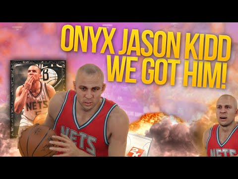 NBA 2K15 My Team WE GOT ONYX JASON KIDD! OMG SO LUCKY!
