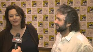 The Hobbit: Peter Jackson and Philippa Boyens Interview - Comic-Con 2012