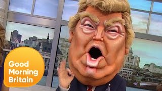 Donald Trump Gets Booed on Bigheads! | Good Morning Britain