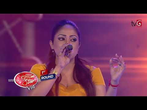 Duwillen Wathsunu Thawara - Aneetha Kanagi @ Dream Star Season VIII on TV Derana ( 21-07-2014 )
