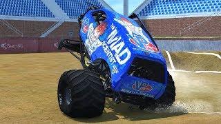 20 Breakable Truck Hybrid Freestyle - BeamNG.Drive Monster Jam
