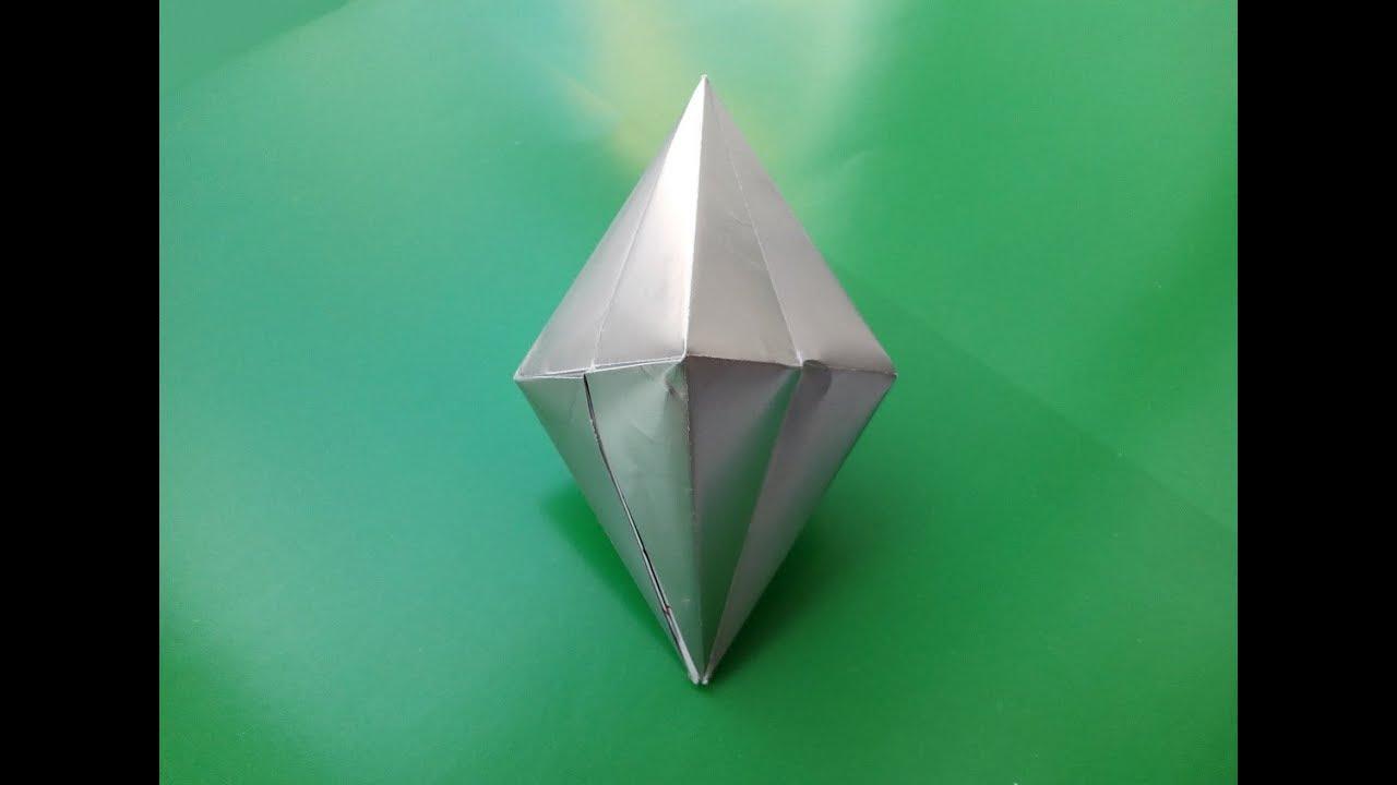 Как сделать из бумаги кристаллики 351